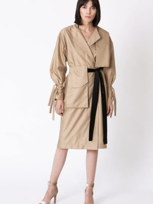 Trench coat type dress REFLEXIONS